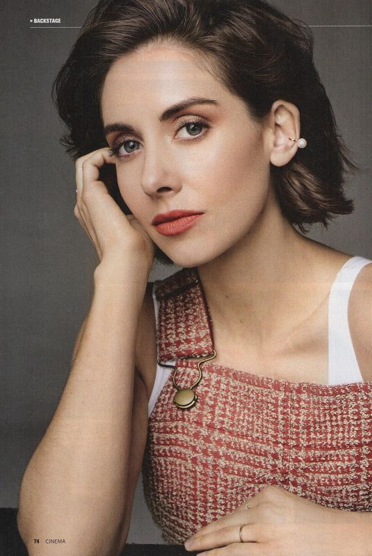 ALISON BRIE in Cinema Magazine, Germany July 2018