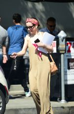 ALISON BRIE Out for Lunch in Los Angeles 06/30/2018