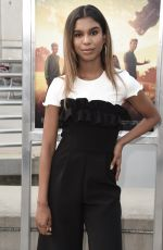 ALIYAH MOULDEN at The Darkest Minds Screening in Los Angeles 07/26/2018