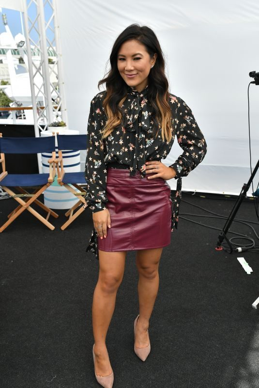 ALLY MAK at Variety Studios at Comic-con 2018 in San Diego 07/20/2018