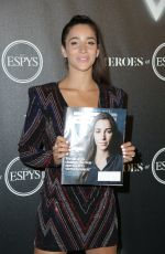 ALY RAISMAN at Heroes at the Espys Pre-party in Los Angeles 07/17/2018