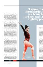 ALY RAISMAN in Espn Magazine, July 2018