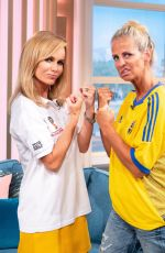 AMANDA HOLDEN and ULRIKA JONSSON This Morning Show in London 07/06/2018