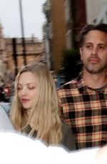 AMANDA SEYFRIED and Thomas Sadoski Leaving Townhouse in London 07/09/2018