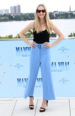 AMANDA SEYFRIED at Mamma Mia! Here We Go Again Photocall in Hamburg 07/12/2018