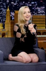 AMANDA SEYFRIED at Tonight Show Starring Jimmy Fallon in New York 07/18/2018
