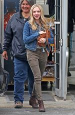 AMANDA SEYFRIED on the Set of  The Art of Racing in Port Coquitlam 06/30/2018