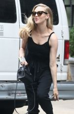 AMANDA SEYFRIED Out and About in New York 07/18/2018