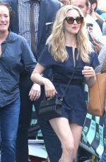 AMANDA SEYFRIED Promotes Mamma Mia! Here We Go Again in New York 07/19/2018