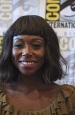 AMANDA WARREN at The Purge Photocall at Comic-con in San Diego 07/22/2018
