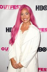 AMARA CASH at Outfest Film Festival Opening Night Gala in Los Angeles 07/12/2018