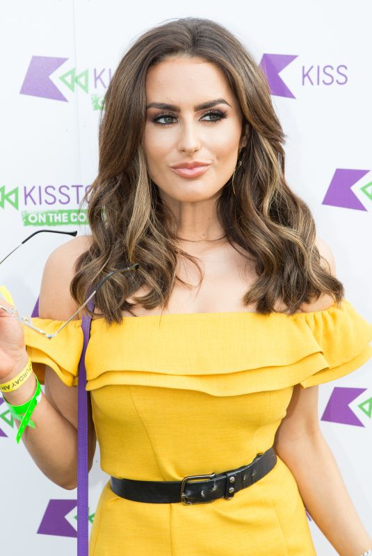AMBER DAVIES at Kisstory on the Common in London 07/21/2018