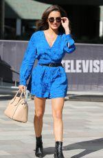 AMBER DAVIES Leaves ITV Studios in London 07/02/2018