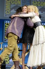 AMBER HEARD and NICOLE KIDMAN at Aquaman Panel Comic-con in San Diego 07/21/2018