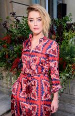 AMBER HEARD at Valentino Show at 2018 Haute Couture Fashion Week in Paris 07/04/2018