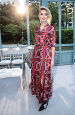 AMBER HEARD at Valentino Show at Paris Fashion Week 03/04/2018