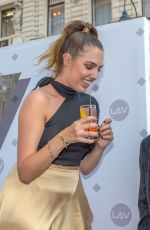 AMBER LE BON at Garden of Lav Opening in Vienna 07/09/2018