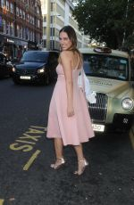 AMBER LE BON at Magnum VIP Launch Party in London 07/05/2018