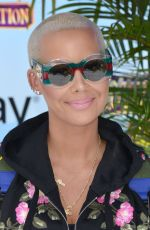 AMBER ROSE at Hotel Transylvania 3: Summer Vacation Premiere in Los Angeles 06/30/2018