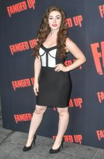 AMBER THORNE at Fanged Up Premiere in London 07/25/2018