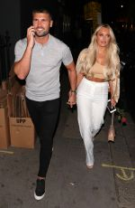 AMBER TURNER Leaves Mnky House in London 07/18/2018
