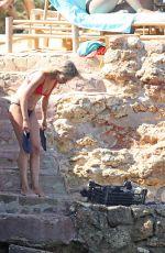 AMELIA WINDSOR in Bikini at a Beach in Ibiza 07/27/2018