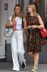 AMELIA WINDSOR Leaves Bodyism in Notting Hill 07/20/2018