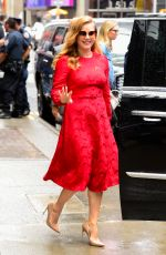 AMY ADAMS Leaves Good Morning America in New York 06/28/2018