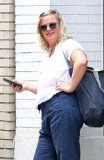 AMY POEHLER Out and About in New York 07/27/2018