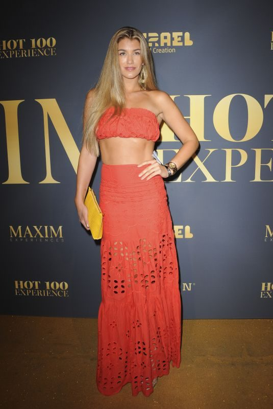 AMY WILLERTON at Maxim Hot 100 Experience in Los Angeles 07/21/2018