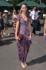 AMY WILLIAMS at Wimbledon Tennis Championships in London 07/07/2018