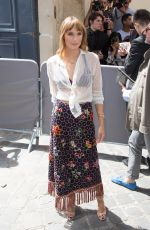 ANA GIRARDOT at Dior Fall/Winter 2018/2019 Haute Couture Show in Paris 07/02/2018