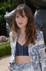 ANAIS DEMOUSTIER at Dior Fall/Winter 2018/2019 Haute Couture Show in Paris 07/02/2018