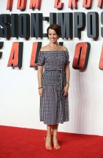 ANDREA MCLEAN at Mission: Impossible – Fallout Premiere in London 07/13/2018