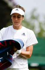 ANDREA PETKOVIC at Wimbledon Tennis Championships in London 07/04/2018