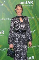 ANGELA LINDVALL at Amfar Paris Dinner at Paris Fashion Week 07/05/2018