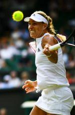 ANGELIQUE KERBER at Wimbledon Tennis Championships in London 07/07/2018