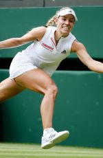 ANGELIQUE KERBER at Wimbledon Tennis Championships in London 07/09/2018