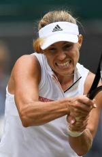 ANGELIQUE KERBER at Wimbledon Tennis Championships in London 07/10/2018