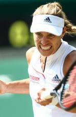 ANGELIQUE KERBER at Wimbledon Tennis Championships in London 07/12/2018
