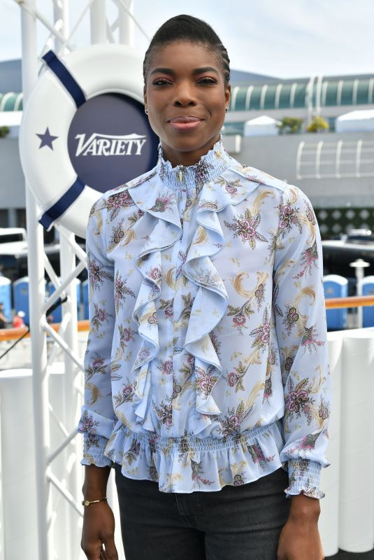 ANN OGBOMO at Variety Studio at Comic-con in San Diego 07/21/2018