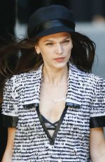 ANNA BREWSTER at Chanel Show at Haute Couture Fashion Week in Paris 07/03/2018