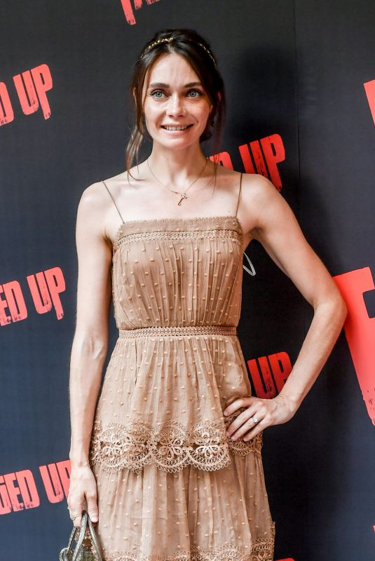 ANNA DANSHINA at Fanged Up Premiere in London 07/25/2018