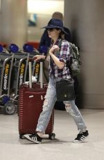 ANNA KENDRICK Arrives at Miami Airport 07/09/2018
