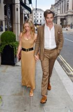 ANNABELLE WALLIS Out in London 07/04/2018