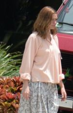 ANNE HATHAWAY on the Set of The Last Thing He Wanted in San Juan 07/02/2018