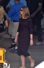 ANNE HATHAWAY on the Set of The Last Thing He Wanted in San Juan 07/03/2018