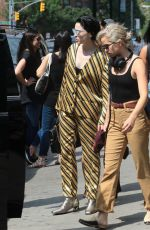ANNIE CLARK Out in New York 07/28/2018