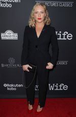 ANNIE STARKE at The Wife Premiere in Los Angeles 07/23/2018
