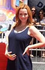 ANNIE WERSCHING at Teen Titans Go! to the Movies Premiere in Los Angeles 07/22/2018